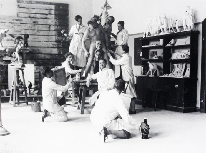 Bildhauerkalsse um 1930