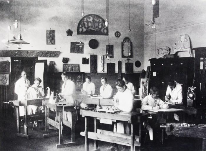 Holzklasse 1928-29